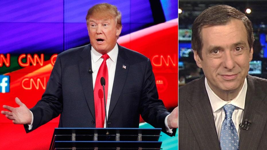 Kurtz: Trump takes on CNN (sort of)