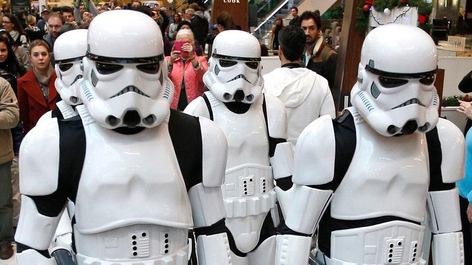 Is 'Star Wars' merchandising too much?
