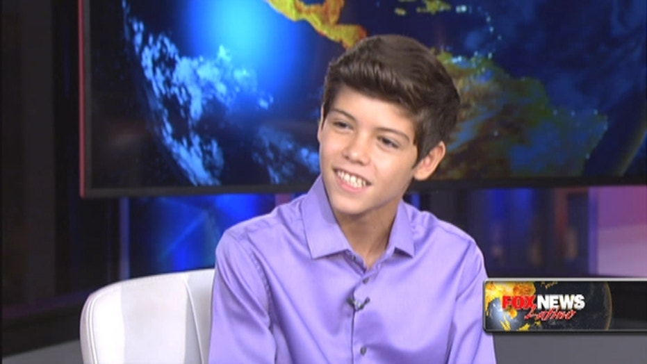 Puerto Rican boy now March of Dimes Ambassador
