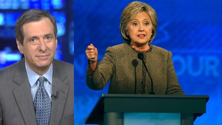 Kurtz: Hillary digs a hole