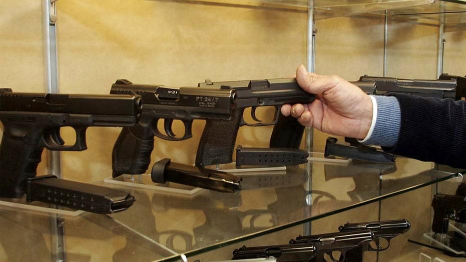 Gun sales shoot up this holiday season