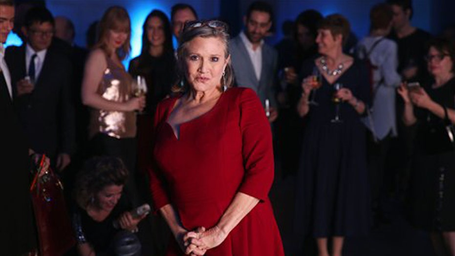 Carrie Fisher shuts down cyber trolls