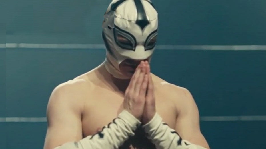 Wrestling meets faith in new movie 'The Masked Saint'