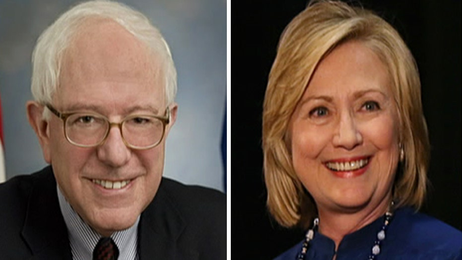 How far left will Clinton go to compete with Sanders?