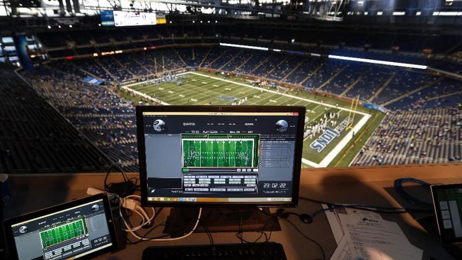 Using chips to track NFL players on the field.