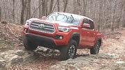 Gary Gastelu takes the new  Toyota Tacoma TRD Off-Road x where it belongs.