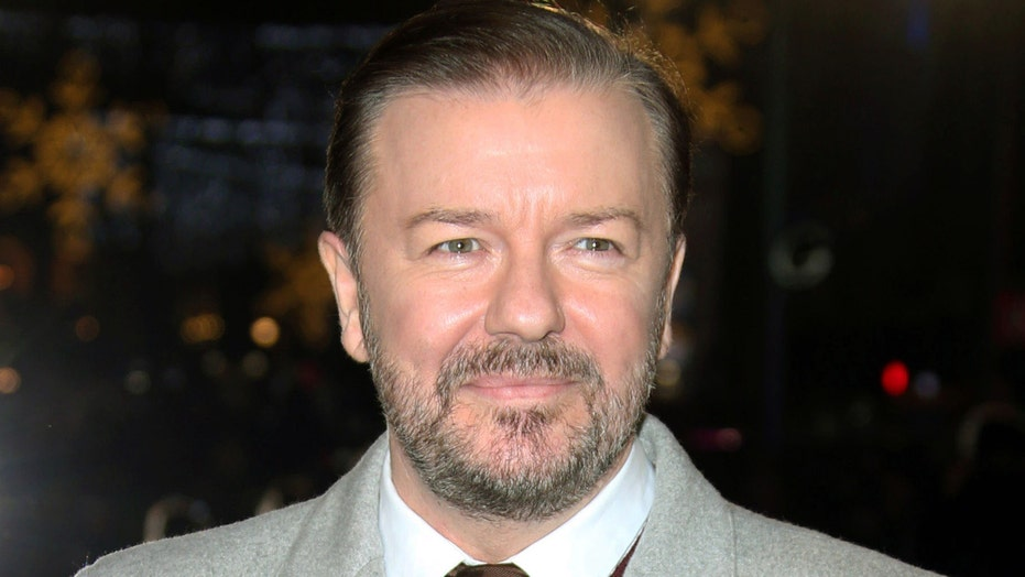 Ricky Gervais ready to push buttons at the Golden Globes