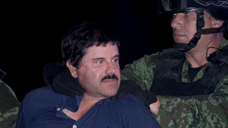 'El Chapo' back in Mexican prison where he escaped