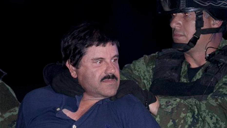 'El Chapo' back in Mexican prison where he escaped