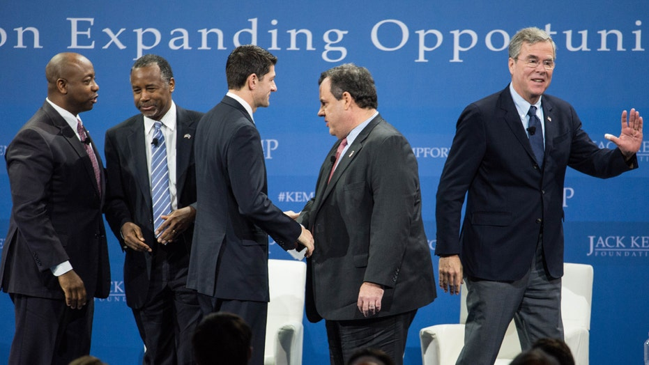 GOP 'establishment' candidates battle it out in NH