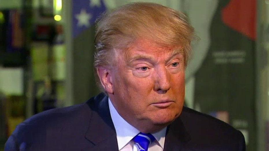 Donald Trump talks Ted Cruz, gun control and the Clintons