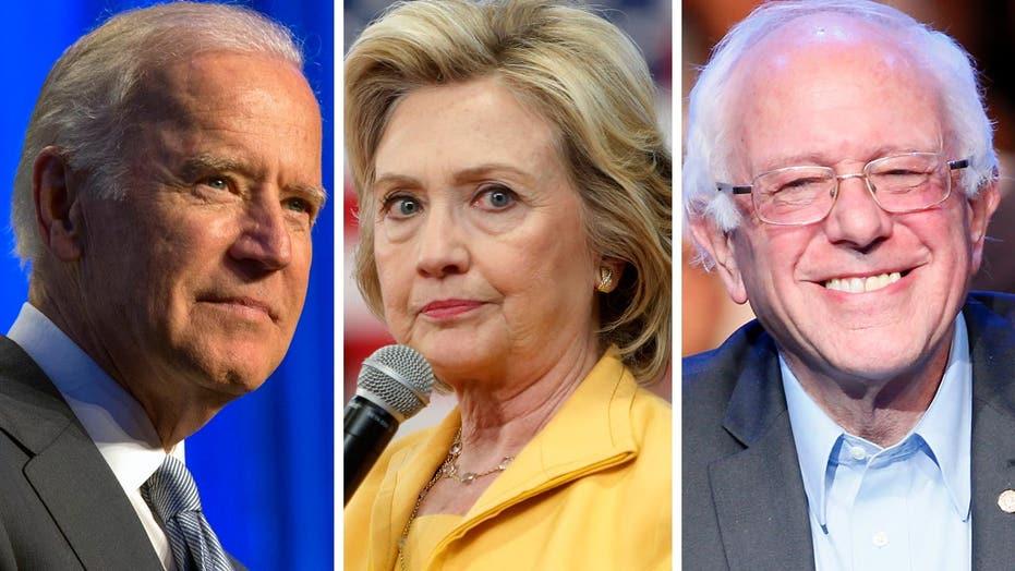 Joe Biden tweaks Hillary Clinton, praises Bernie Sanders
