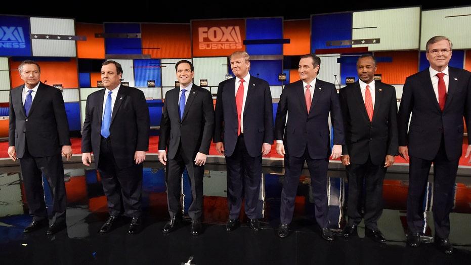 GOP contenders spar in first debate of 2016