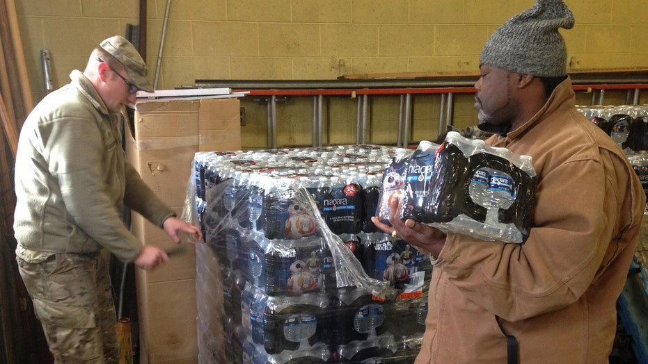 Blame game over Flint water crisis