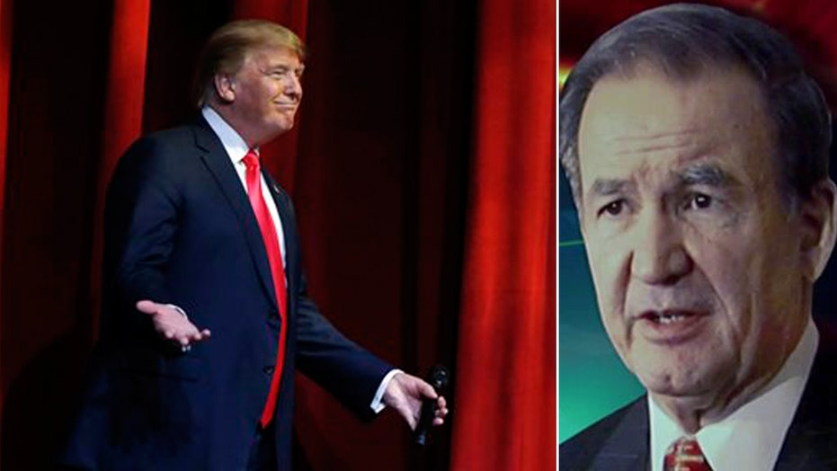 Pat Buchanan: National Review criticisms only helping Trump