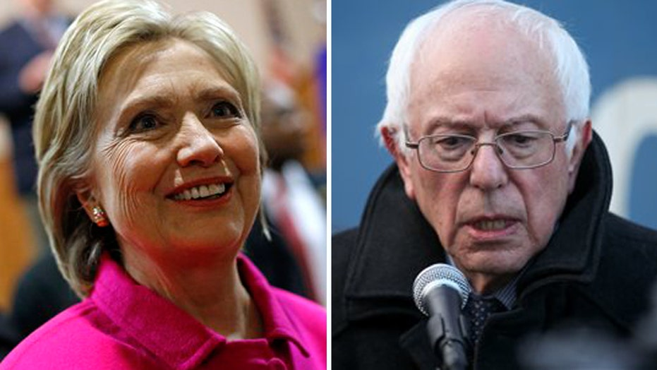 Clinton goes on the attack as Sanders continues to surge