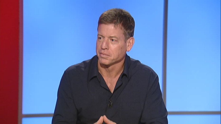 How NFL legend Troy Aikman sacked melanoma