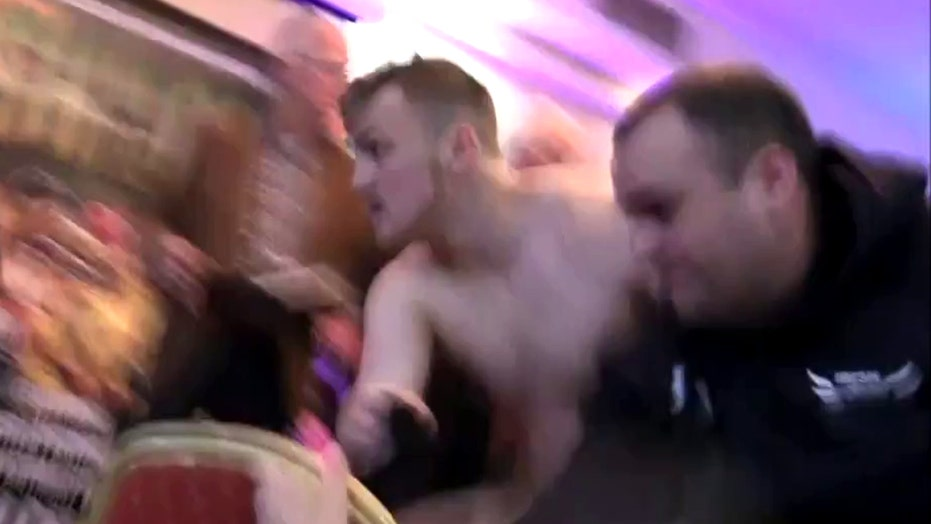 Watch chaos erupt as gunmen storm boxing weigh-in