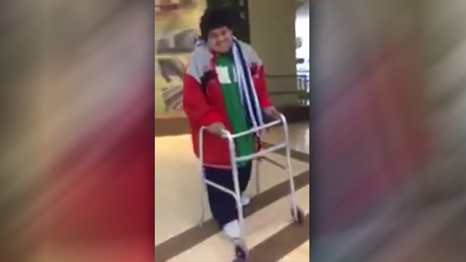 World's heaviest person walks after extreme weight loss