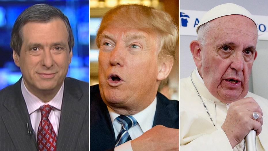 Kurtz: The Donald vs. The Pope