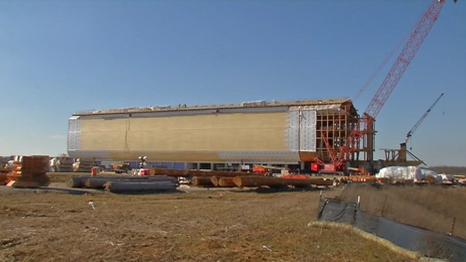 Full-size replica of Noah's Ark nears completion
