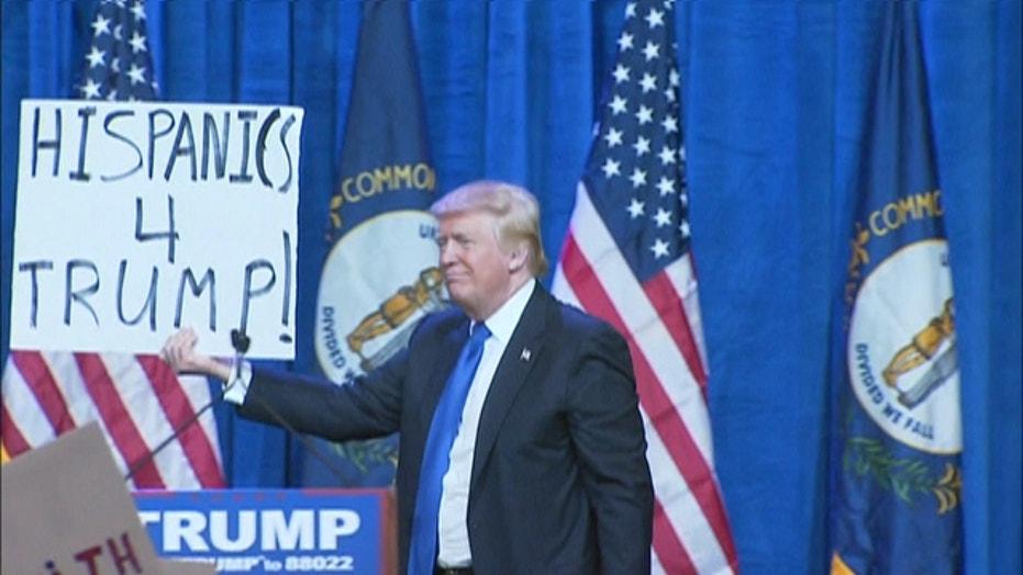 Trump holds