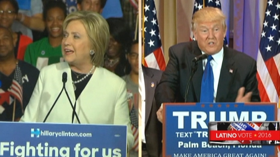 Trump and Clinton dominate on Super Tuesday
