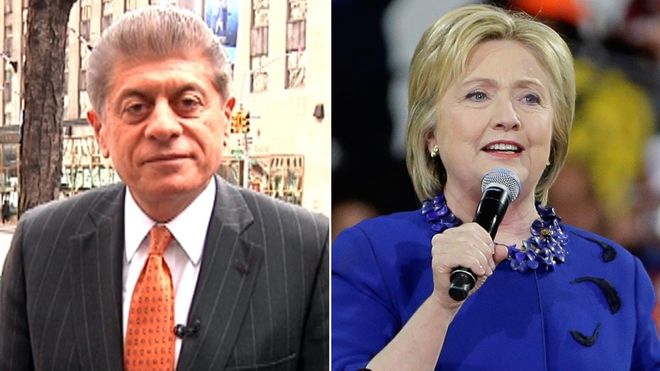 Napolitano: Hillary 'conspiracy' is starting to unveil