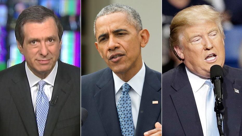 Kurtz: Obama says, hey, don't blame me