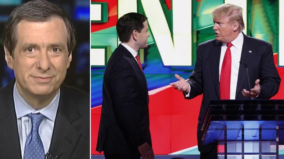 Kurtz: Why Trump stopped throwing mud