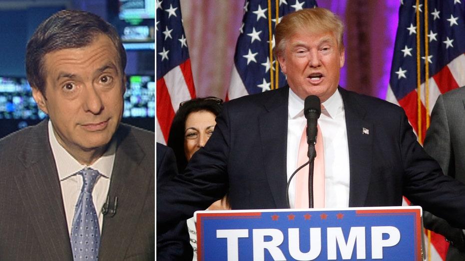 Kurtz: Blaming the media for The Donald
