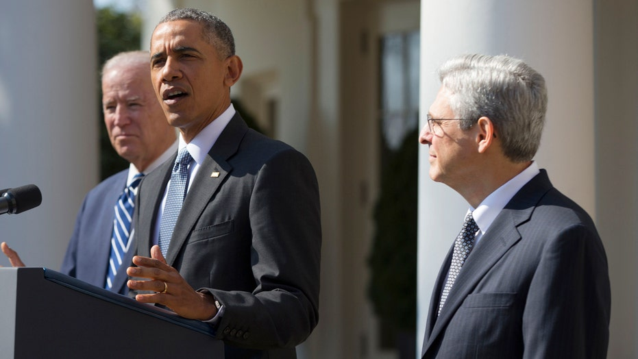 Obama nominates Merrick Garland to the Supreme Court