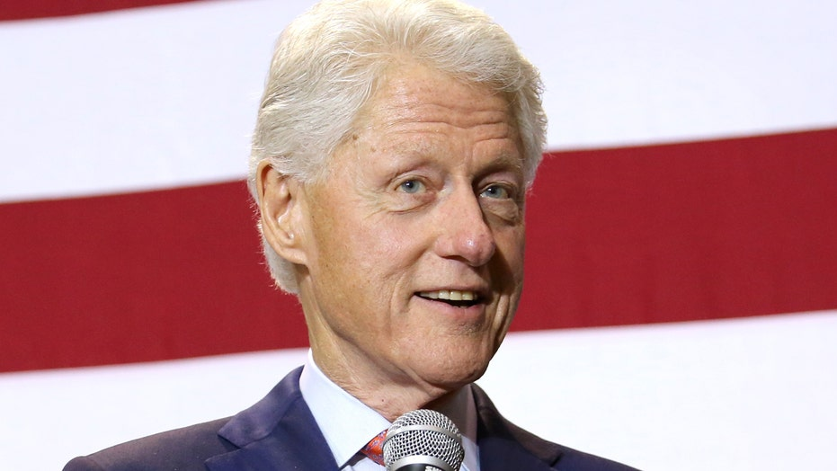 Bill Clinton slams 'awful legacy of the last eight years'