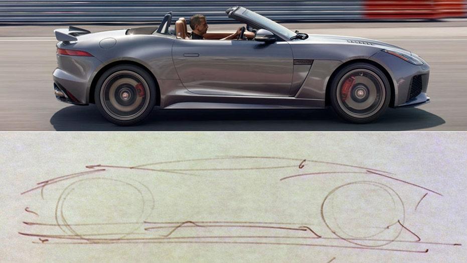 Jaguar's design secrets revealed