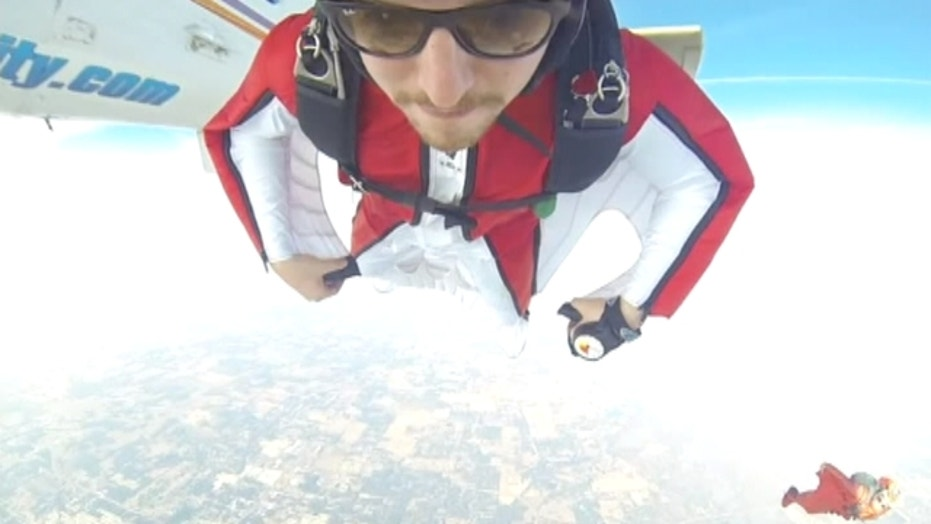 Skydiver injured after colliding in midair
