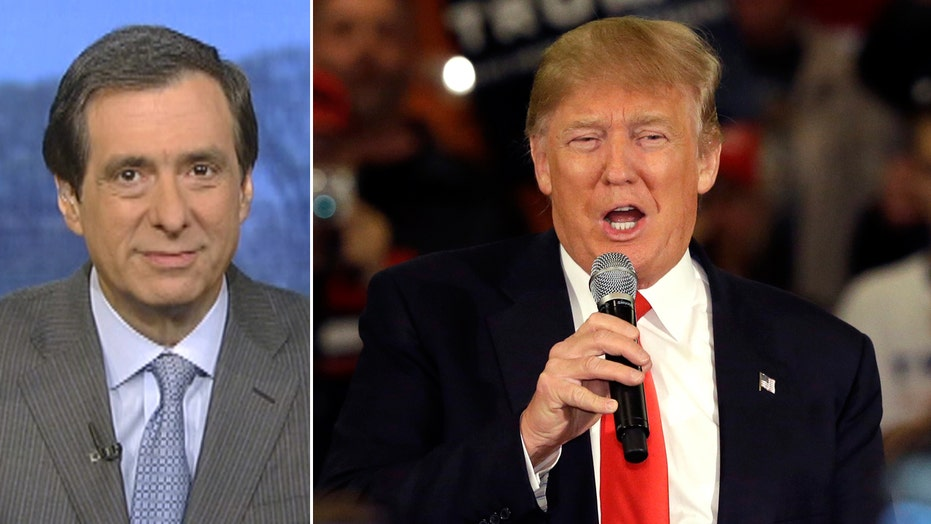 Kurtz: Can Trump change his tune?