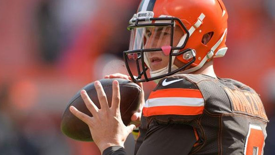 What caused Johnny Manziel to spin out of control?