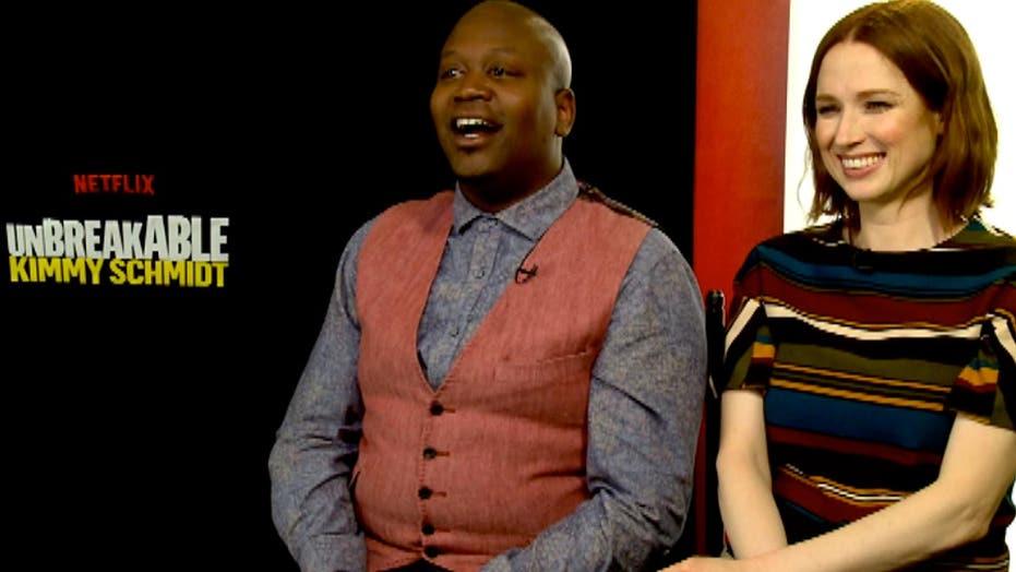 'Unbreakable Kimmy Schmidt' stars double down on wacky songs
