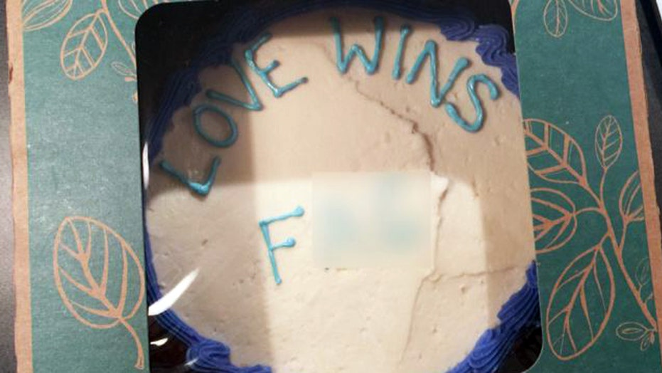 Pleasant Whole Foods Fights Back Against Alleged Cake Hoax Fox News Personalised Birthday Cards Rectzonderlifede