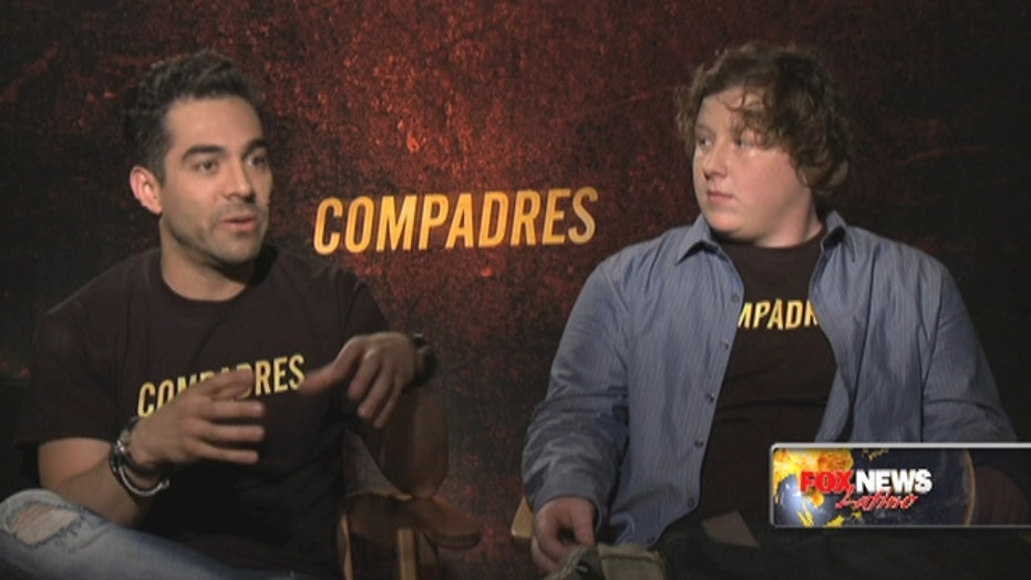 'Compadres' is a cross-border buddy film