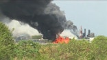 A chemical plant explosion kills  and injures dozens