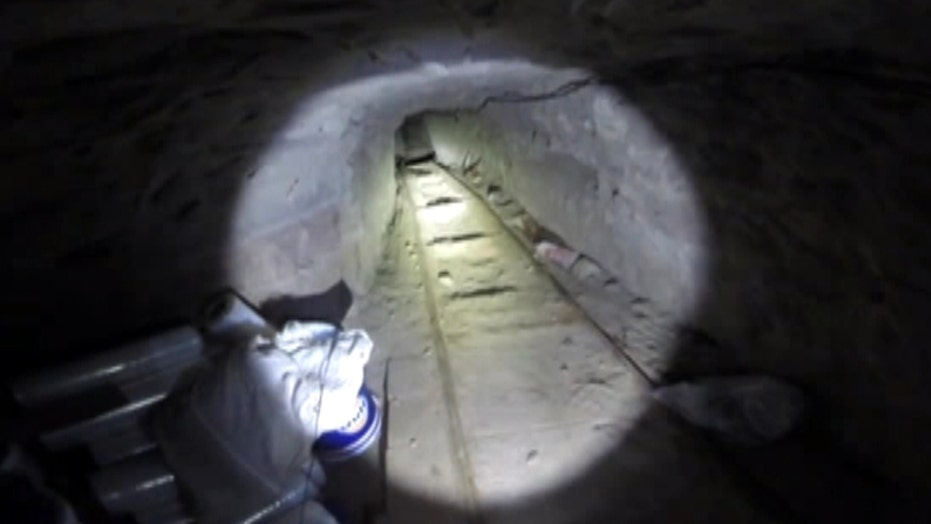 A look inside the tunnel found under the US-Mexico border