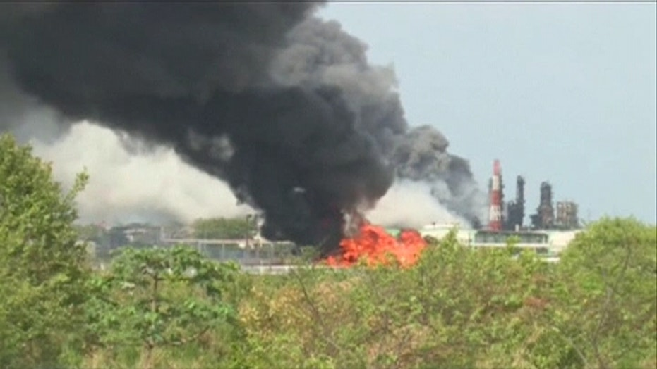 Plant blast kills 13 in Mexico