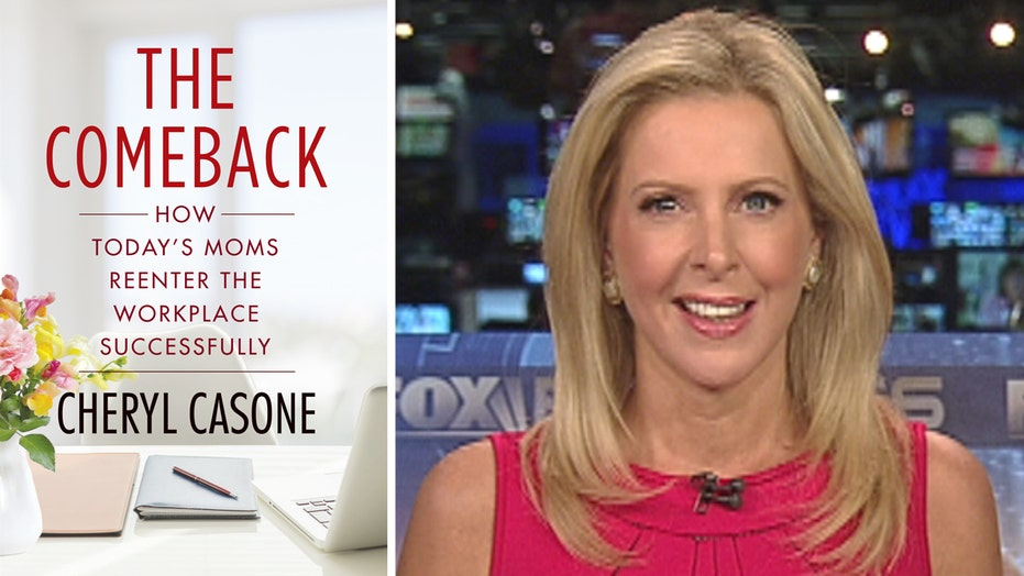 Cheryl Casone shares inspirational stories in 'The Comeback'