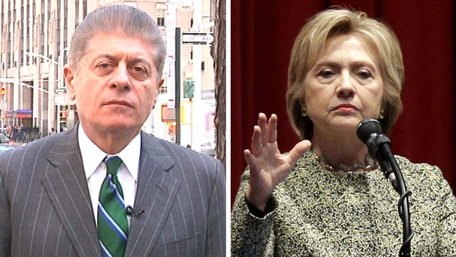 Napolitano: Indictment or not, Hillary faces catastrophe