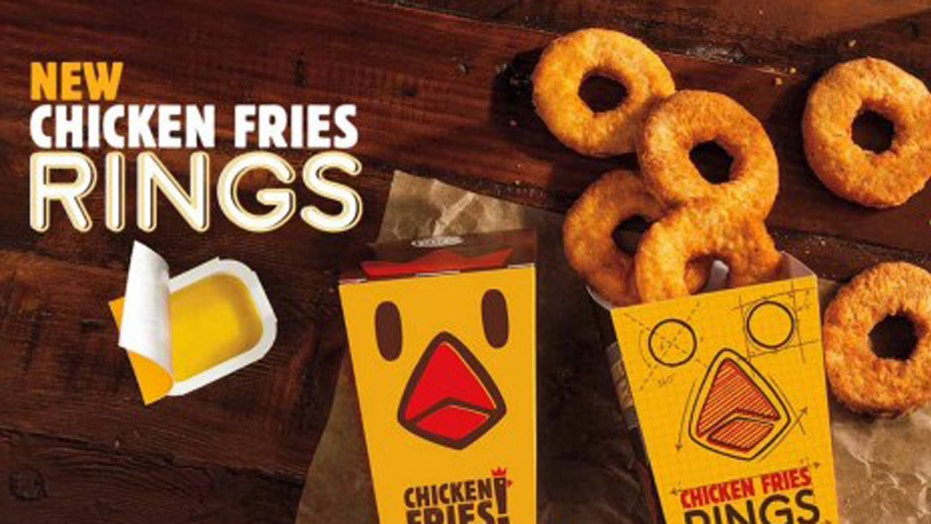 Chicken Fries Rings spin circles around the competition