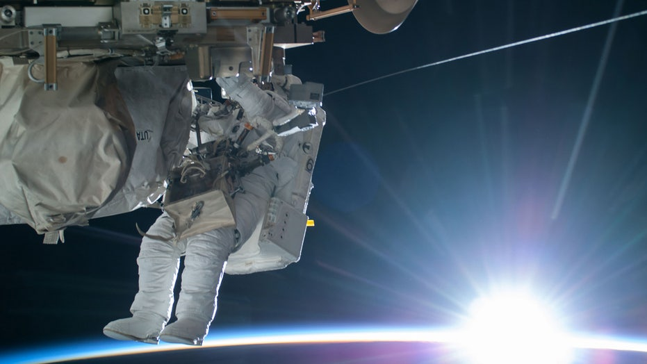 Social media in space and a new view of Earth