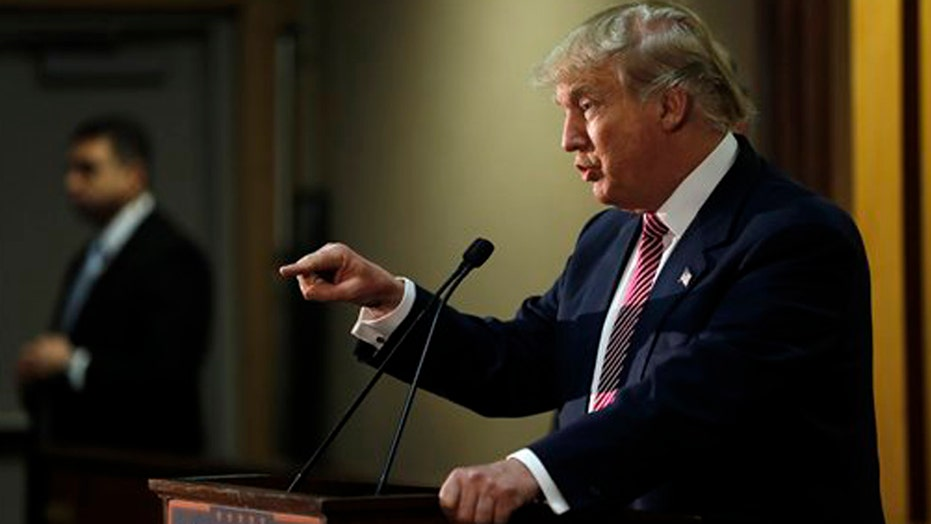 Donald Trump faces backlash for saying 'America first'