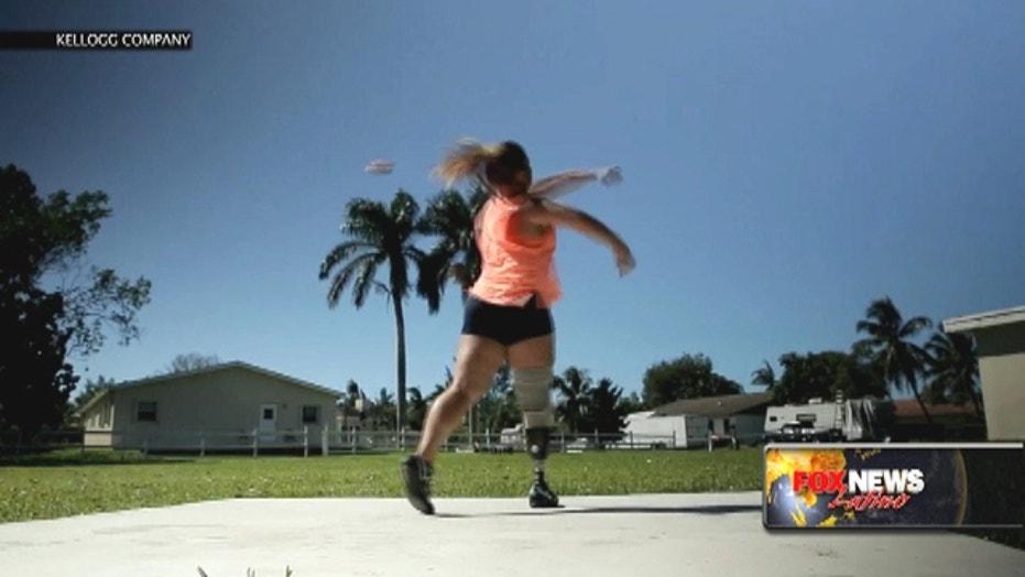 Natalie Bieule, U.S. Paralympic discus thrower