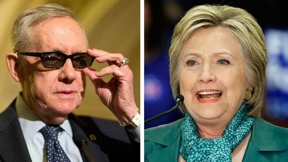 Veepstakes heats up: Reid tells Clinton to avoid these picks